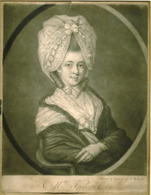 Mrs Frederick, engraved by J.R. Smith