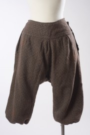 Brown wool tweed cycling bloomers, c.1890 - 1910 From the Hopkins Collection