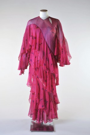 Dress, Ossie Clark, c.1973 - 1974