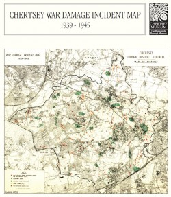 image for Chertsey War Damage Map