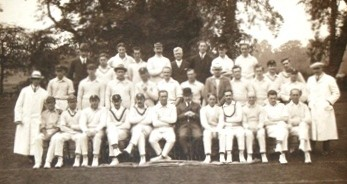 Chertsey Cricket Club, c.1920